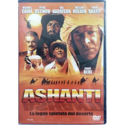 Dvd Ashanti - La legge spietata del deserto