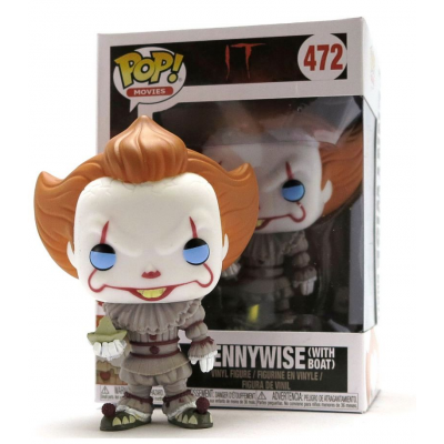 IT Pennywise with boat Pop! Funko