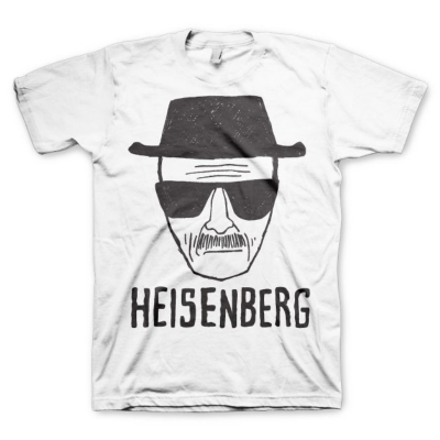 T-shirt Breaking Bad Heisenberg Sketch