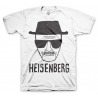 T-shirt Breaking Bad Heisenberg Sketch Walter White maglia Uomo Hybris