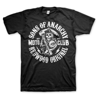 T-shirt Sons of Anarchy SOA Redwood original Moto Club