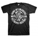T-shirt Sons of Anarchy SOA Redwood original Moto Club men Hybris