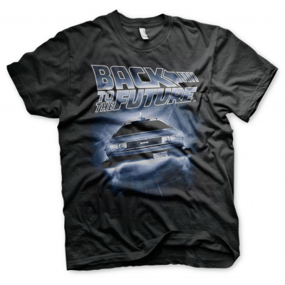 T-shirt Back To The Future Flying Delorean