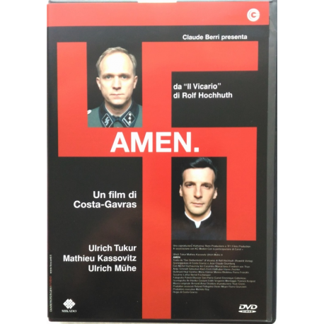 Dvd Amen. con Mathieu Kassovitz 2002