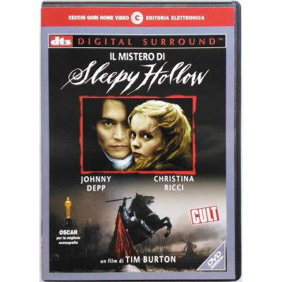 Dvd Il mistero di Sleepy Hollow