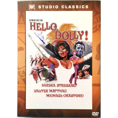 Dvd Hello, Dolly! - ed. slipcase Studio Classics