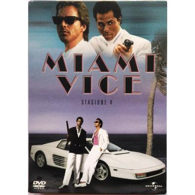 Dvd Miami Vice - Stagione 4