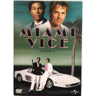 Dvd Miami Vice - Stagione 5