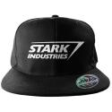 The Avengers - Stark Industries Logo Snapback Cap Hat Marvel Beechfield