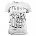 T-shirt Gizmo Gremlins - Trust No One Girly Tee maglia Donna by Hybris
