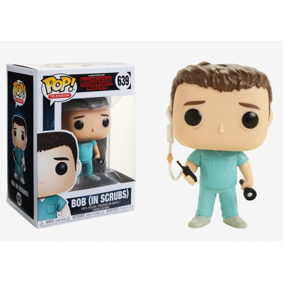 Stranger Things Bob in Scrubs Pop! Funko