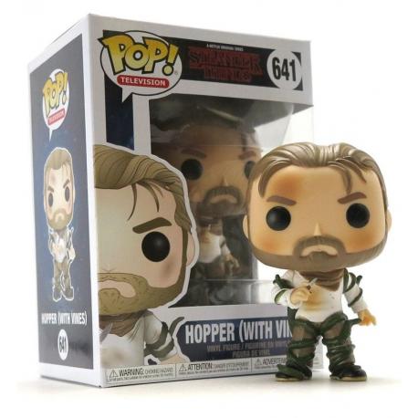 Stranger Things Hopper with Vines Pop! Funko