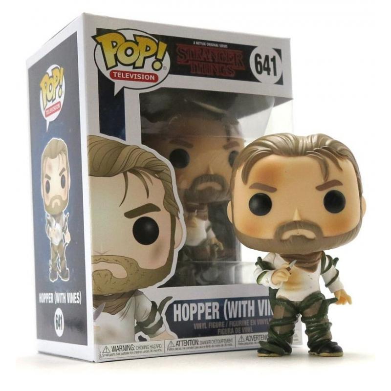 Stranger Things Hopper With Vines Pop Funko
