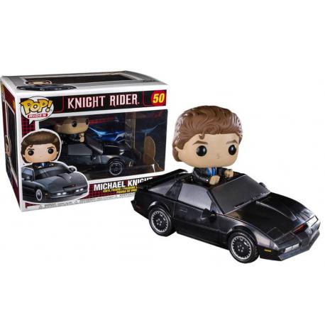 Knight Rider Michael with KITT Pop! Funko