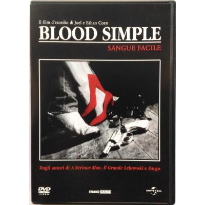 Dvd Blood simple - Sangue facile