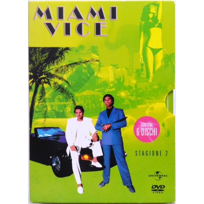 Dvd Miami Vice - Stagione 2