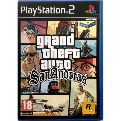 Gioco PS2 GTA Grand Theft Auto San Andreas
