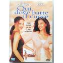Dvd Qui dove batte il cuore con Natalie Portman 2000 Usato