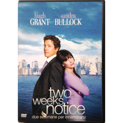 Dvd Two weeks notice