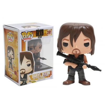 TThe Walking Dead Daryl Dixon with Rocket Launcher Pop! Funko Vinyl Figure n° 391