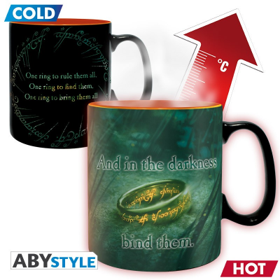 Tazza The Lord of the Rings Sauron Heat Change Mug