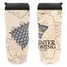 Bicchiere thermos da viaggio Game of Thrones Winter is Coming