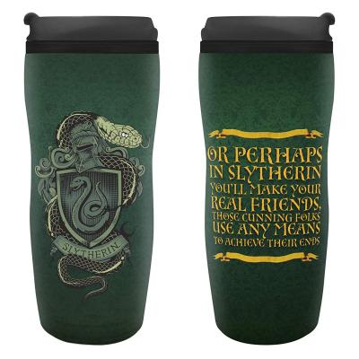Bicchiere thermos da viaggio Harry Potter Slytherin