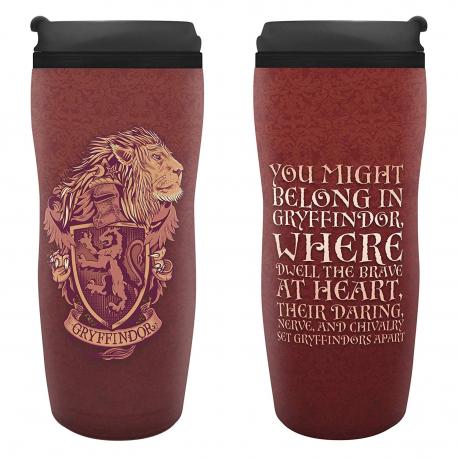 Harry Potter Gryffindor tumbler travel mug ABYstyle
