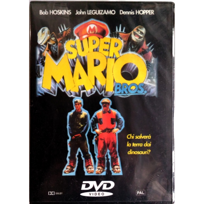 Dvd Super Mario Bros.
