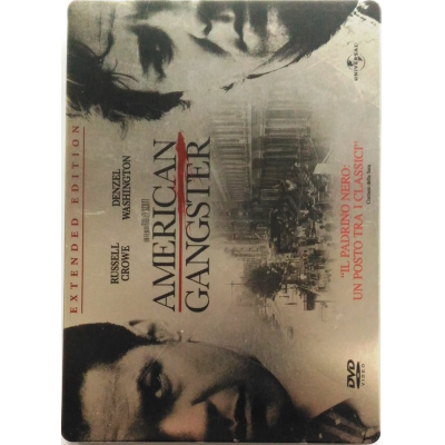Dvd American Gangster - Extended Edition Steelbook