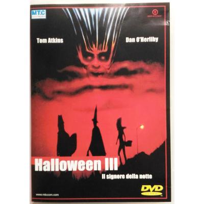 Dvd Halloween III editoriale