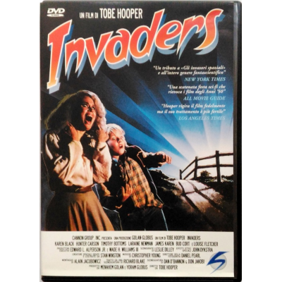 Dvd Invaders di Tobe Hooper
