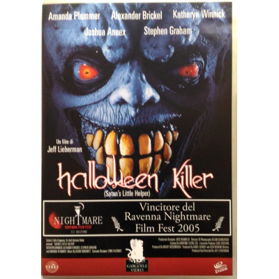 Dvd Halloween Killer