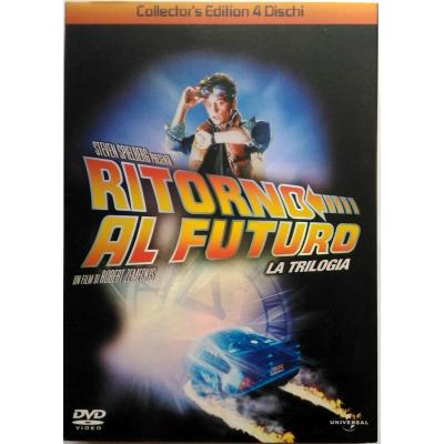 Dvd Ritorno al Futuro - La Trilogia Collector's Edition 4 dischi slipcase