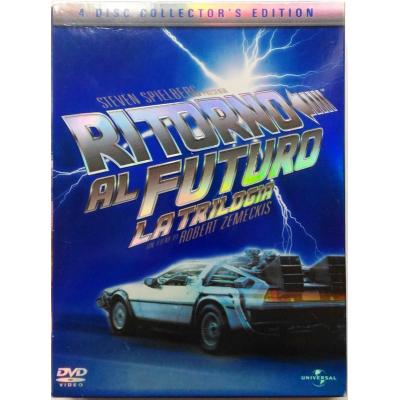 Dvd Ritorno al Futuro - La Trilogia Collector's Edition 4 dischi digipack