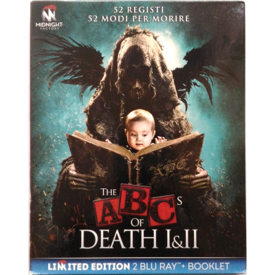 Blu-ray The ABCs of Death I & II - Limited Edition