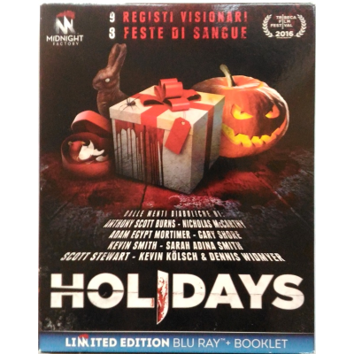 Blu-ray Holidays - Limited Edition slipcase + Booklet 2016 Usato