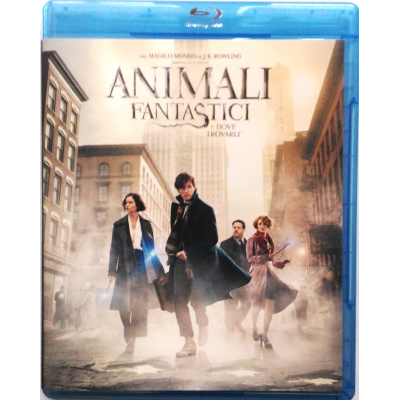 Blu-ray Animali Fantastici e dove trovarli