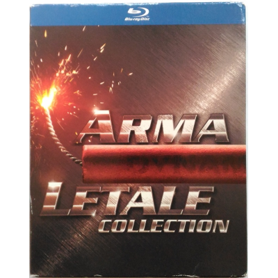 Blu-ray Arma Letale Collection