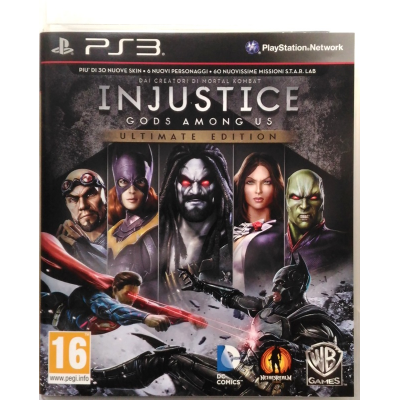 Gioco PS3 Injustice - Gods among us - Ultimate Edition