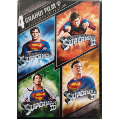 Dvd 4 grandi film - Superman collection