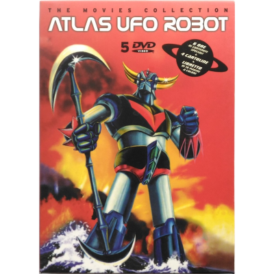 Dvd Atlas Ufo Robot The movies collection