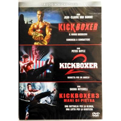 Dvd Trilogia Kickboxer - cofanetto 3 dischi