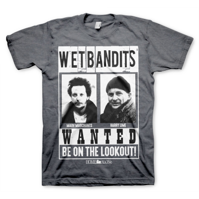 T-Shirt Home Alone - Wet Bandits Wanted