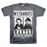 T-Shirt Home Alone - Wet Bandits Wanted Marv & Harry maglia uomo Hybris