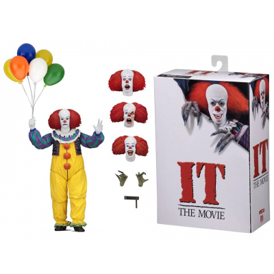 Action figure Ultimate Pennywise Stephen King's IT The Movie 1990 17 cm Neca