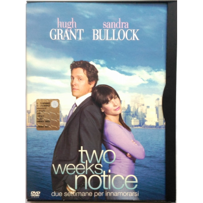 Dvd Two weeks notice snapper