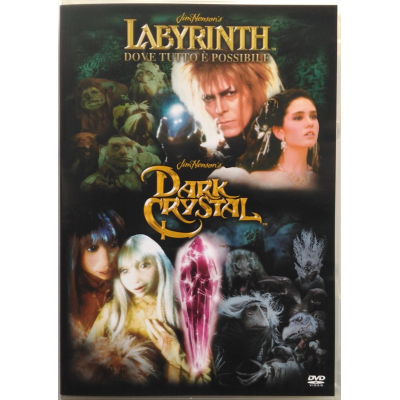 DDvd Labyrinth + Dark Crystal