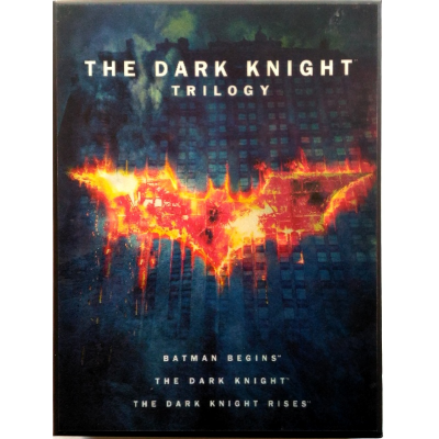 Dvd The Dark Knight Trilogy - Il Cavaliere Oscuro