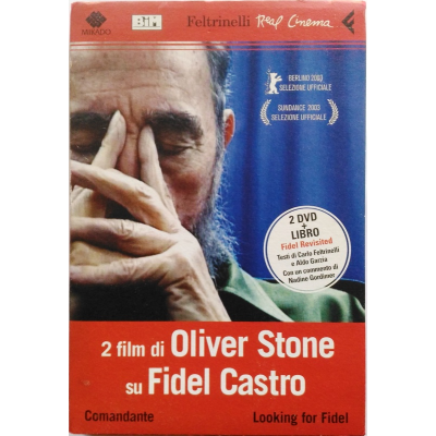 Dvd Comandante - Looking for Fidel di Oliver Stone + Libro Fidel Revisited
